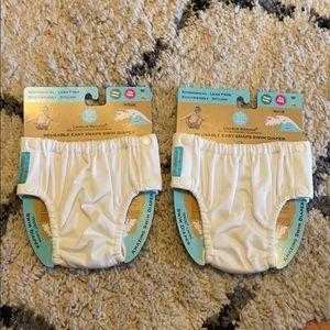 🌊 Charlie Banana Reusable swim diapers set of 2